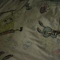 裡面的床單 也是spongebob!!