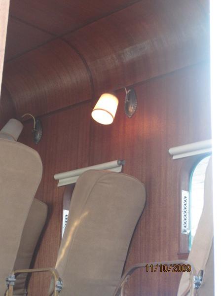超級舊式飛機內部