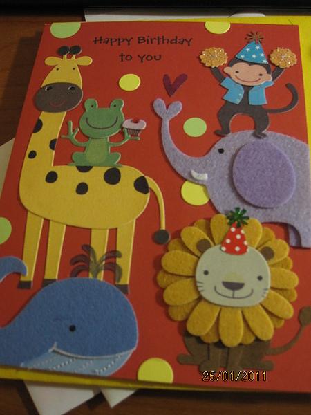 超可愛的台灣卡片