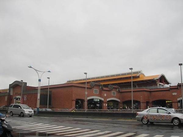 淡水捷運站