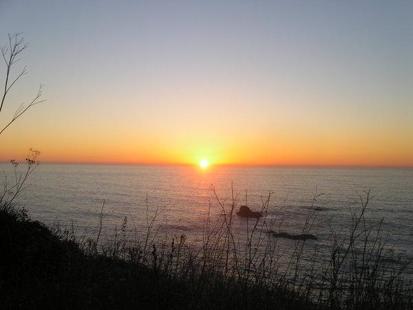 Sunset of N. CA.