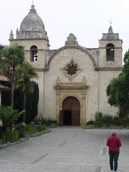 Old mission in Mendecino