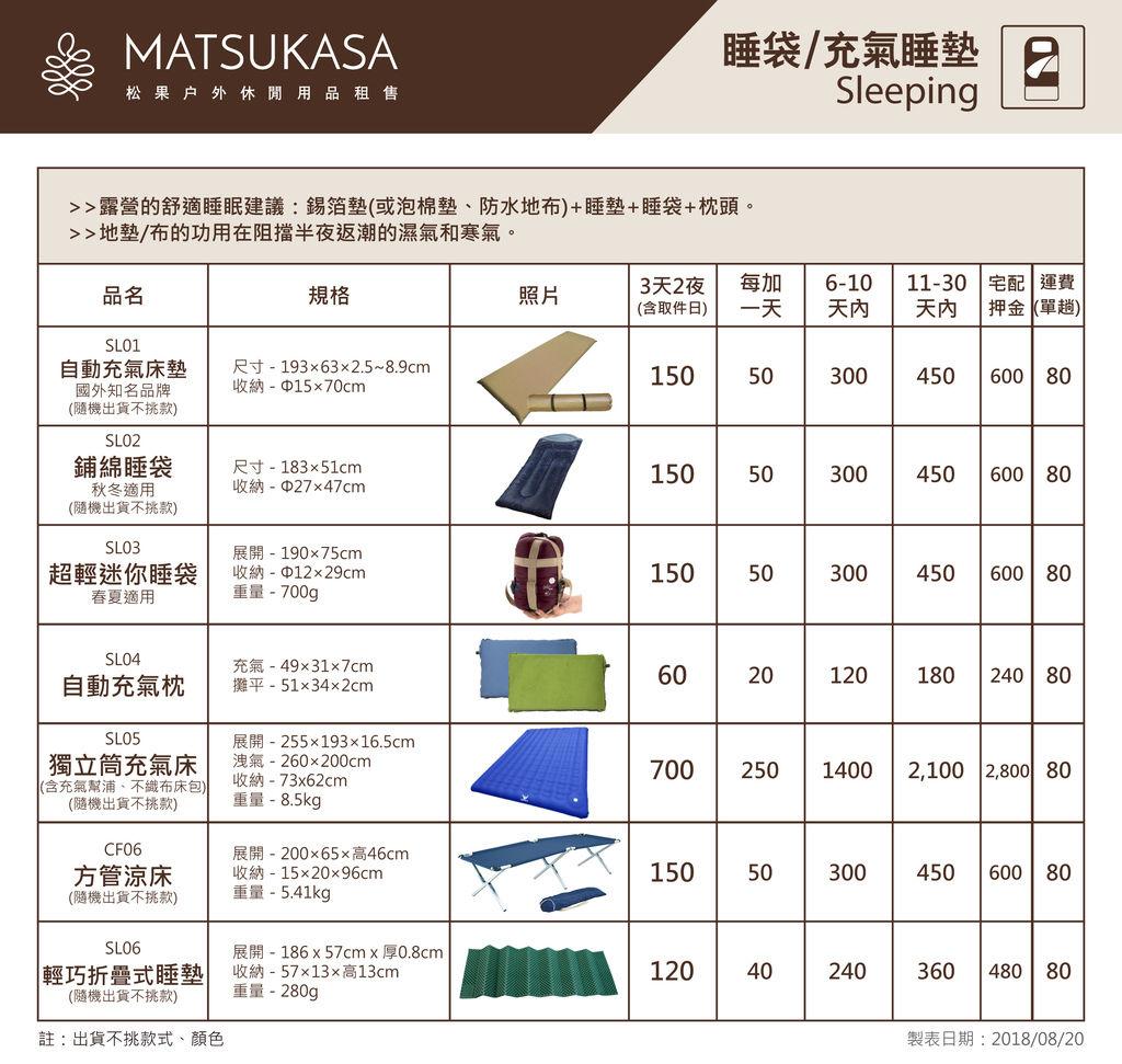 松果租金表(20180817)網路使用-睡袋充氣睡墊.jpg