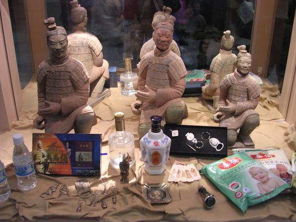 這些都是大陸當地賣的紀念品
