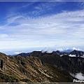聖稜線的雲海