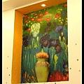 室內的牆飾_1 (這是莫內流嗎?)