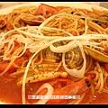 洪大的番茄海鮮義大利麵