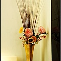 室內的花飾