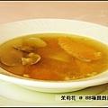 料很多的海鮮清湯