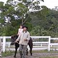 倢安的小馬在後頭