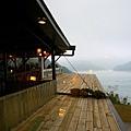 01-31 東尼咖啡_窗外的石門水庫湖景