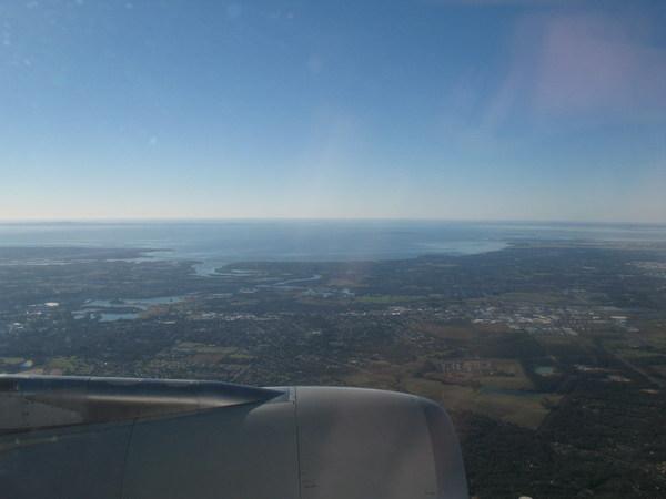 Approaching Brisbane