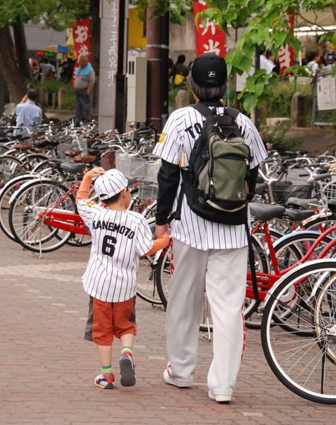 阪神球場外