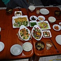 日本好友準備的晚餐