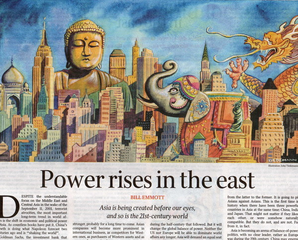 Power ries in the east