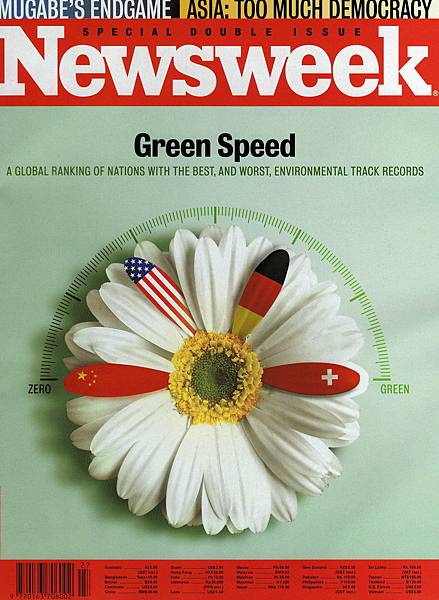 Newsweek Cover July 7-14 2008