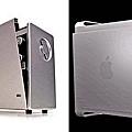 百靈T1000收音機(左)、蘋果PowerMacG5(右)