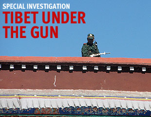 Tibet under the gun