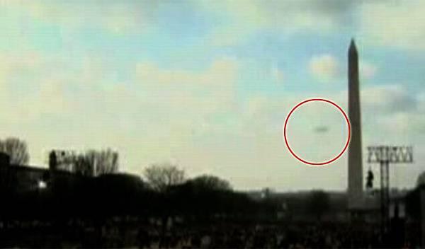 UFO @ Obama's Inauguration