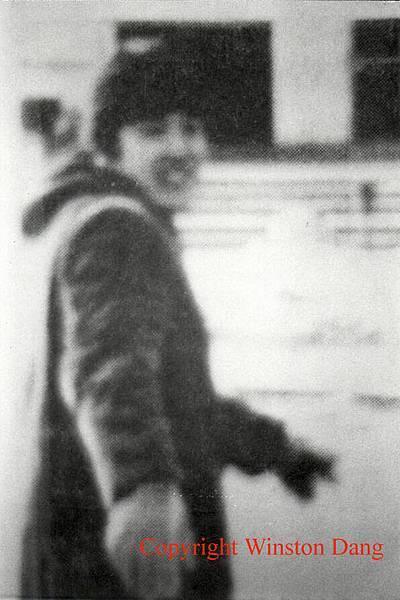 馬英九前往遊行現場拍照被發現的歷史照片