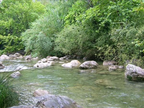 riviere a pont du loup