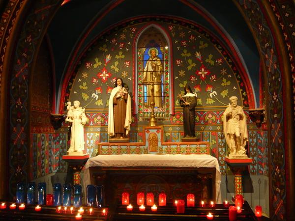 幾尊天主教聖像
