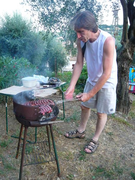 Barbecue chez Christian