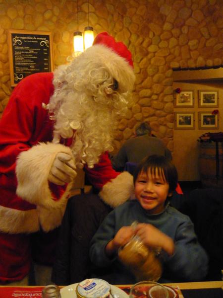 鍋貼與聖誕老公公