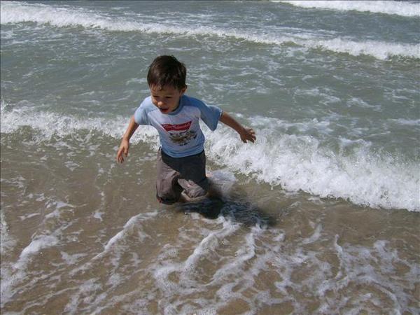 Gauthier a la mer