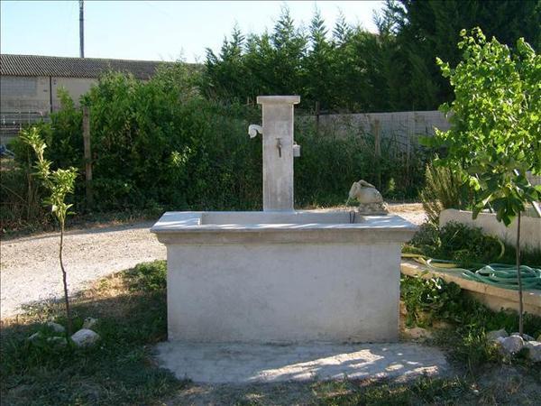 fontaine de chez Gilles
