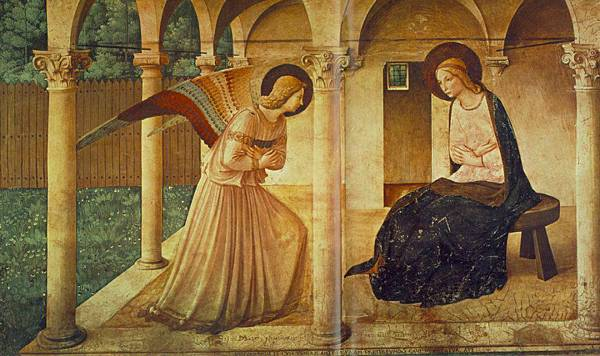 4)The Annunciation, corridor, San Marco 1432