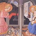 6)Annuciation (Zanobi Strozzi)