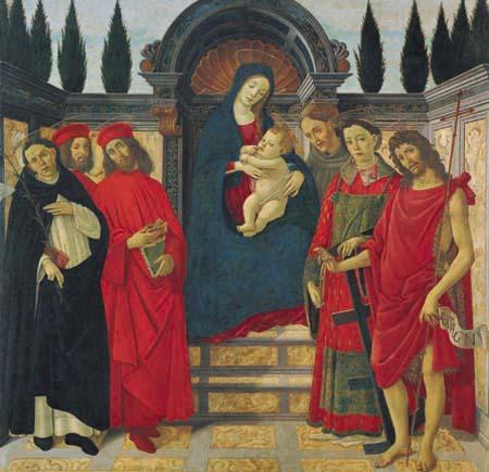 4)The Annunciation, corridor, San Marco 1432