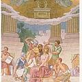 這是大殿正中間.正好是放聖體的小堂.痛苦三端:耶穌受茨冠之辱