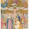 痛苦五端:耶穌被釘在十字架上死