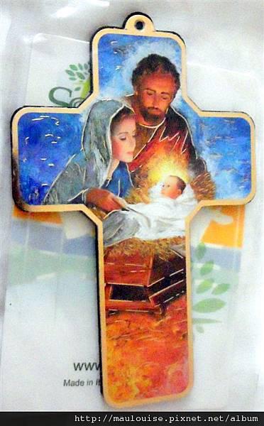 十字架聖家掛飾-耶穌降生