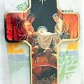 十字架聖家掛飾-馬槽聖家