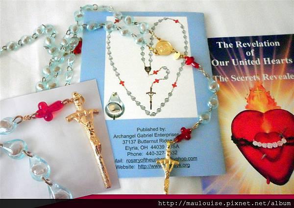 為 unborn 的小生命祈禱的念珠