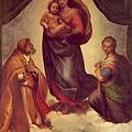 拉菲爾的「西斯汀聖母」,The Sistine Madonna,1512-14.jpg