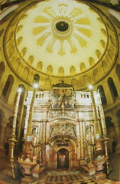 聖墓大殿裡的復活堂