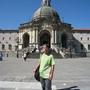 Loyola 依納爵家外面的大聖堂