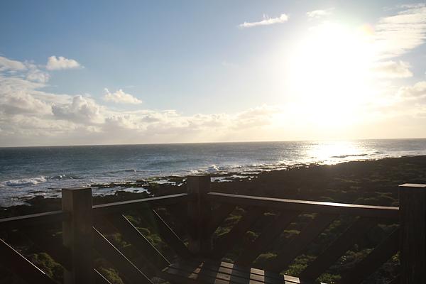 從最南點看出去的海