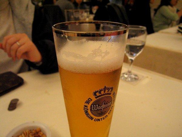 老闆娘請的德國啤酒之四