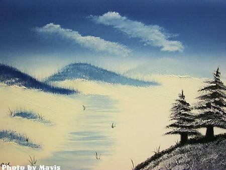 油畫體驗課程