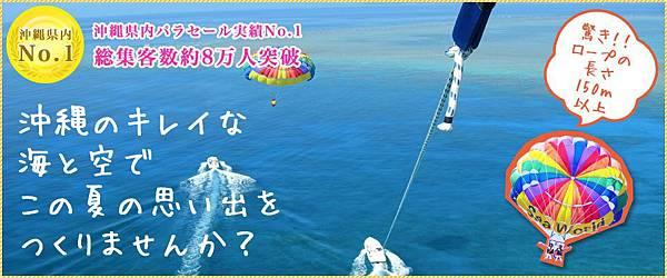 sea world拖曳傘