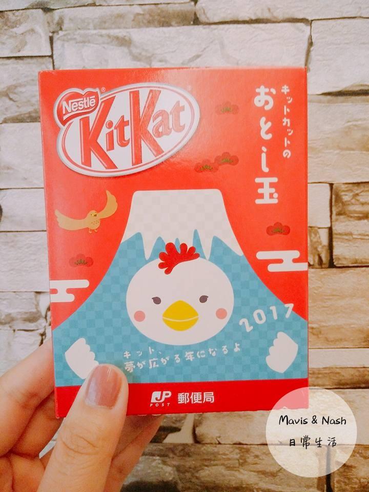 日本郵局限定商品,雞年KITKAT巧克力,日本郵局kitkat巧克力,2017kitkat巧克力,kitkat巧克力 日本