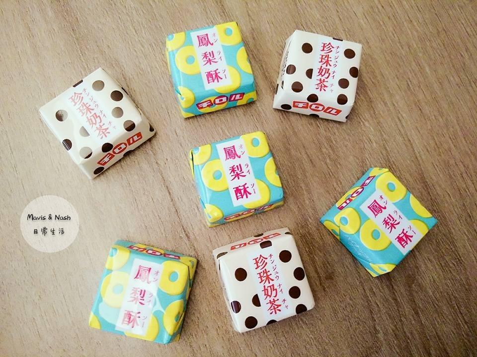 【開箱】滋露台灣甜品巧克力/鳳梨酥巧克力/珍珠奶茶巧克力/超商話題美食