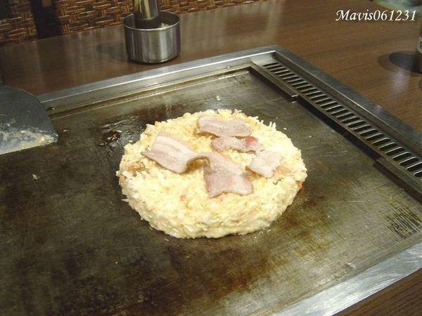 豚キムチお好み焼き