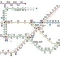 釜山地鐵路線圖-喵嗚版