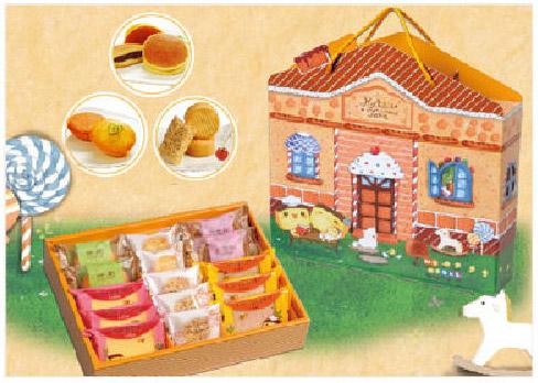 幫金格設計的彌月禮盒包裝設計
